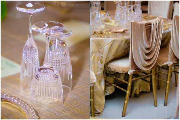 Oriental Hotel wedding decor