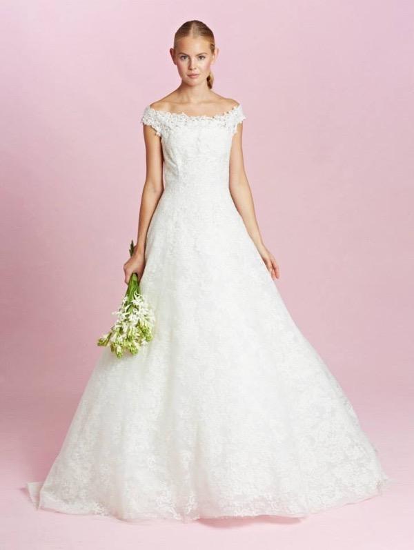Oscar de la Renta Bridal Fall 2015 6