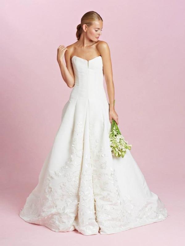 Oscar de la Renta Bridal Fall 2015 9