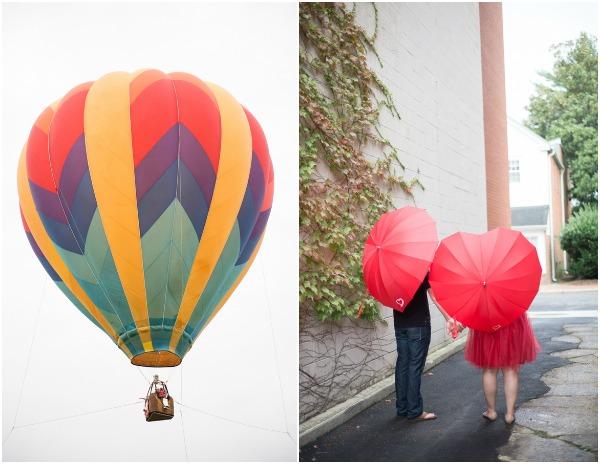 hot air balloon shoot