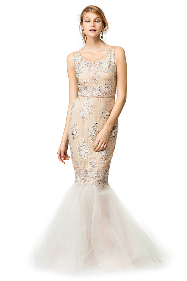 Marchesa Rose Gown