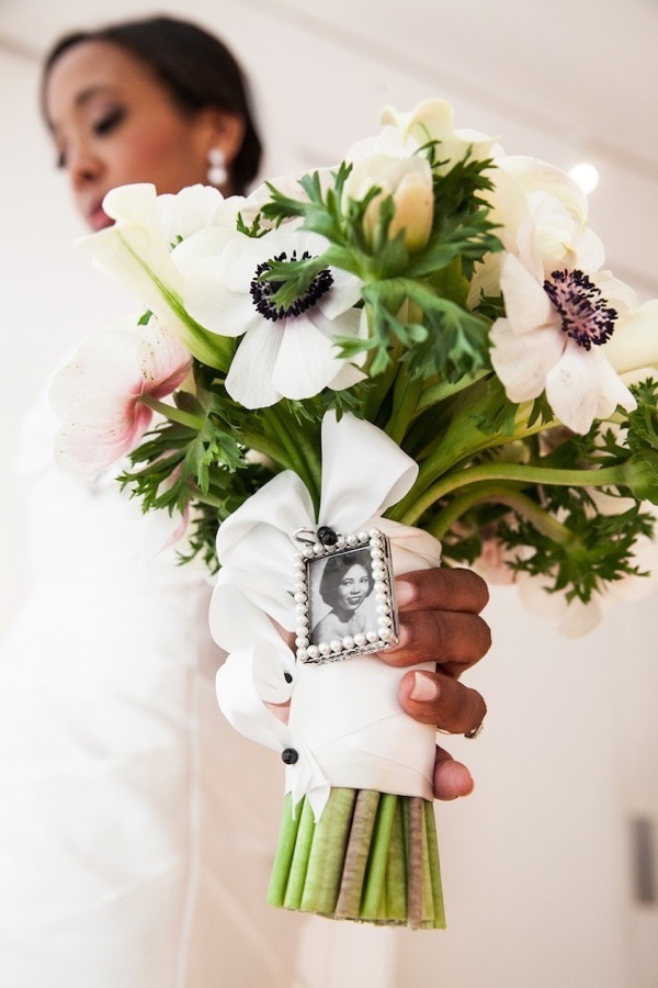 Modern Black and White Museum Wedding 17