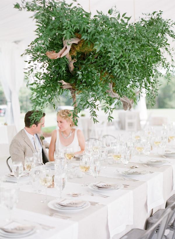 hanging greenery decor