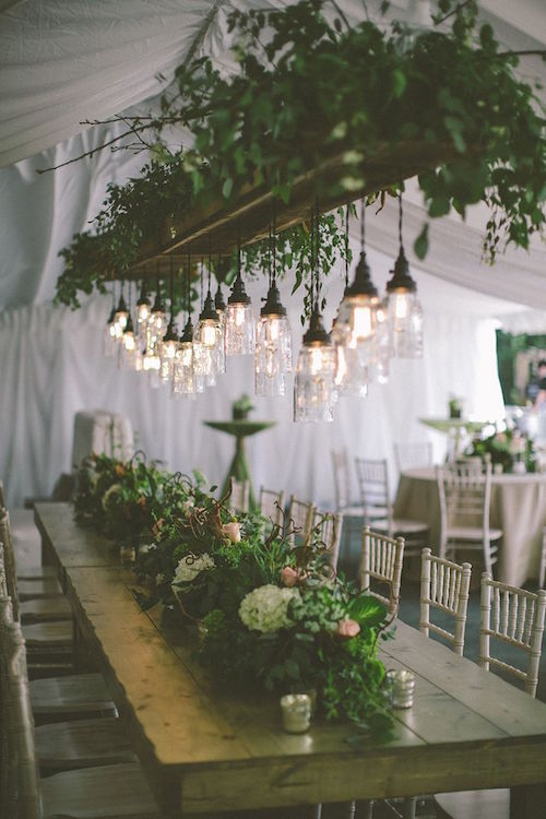 Hanging Greenery - Erin Jean Photography