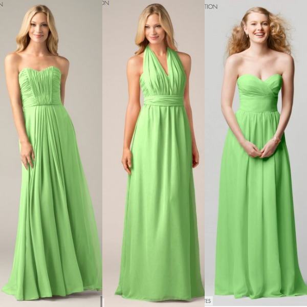 WToo Green Bridesmaids
