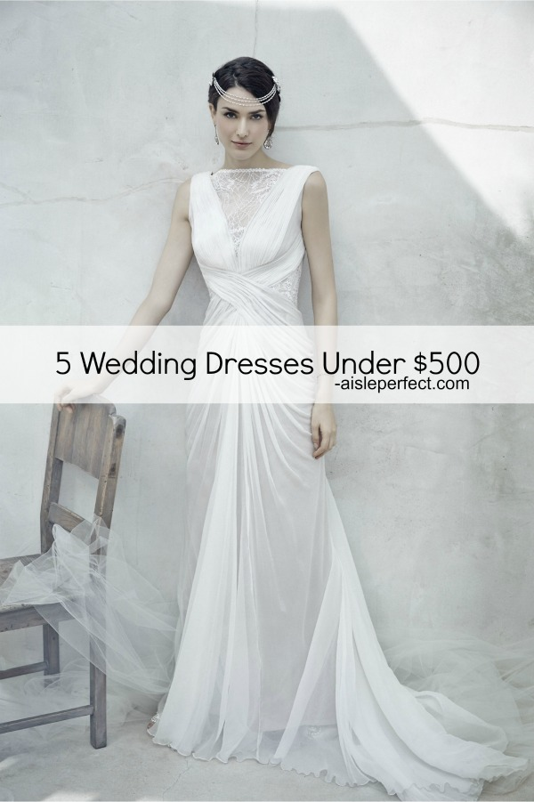 Wedding Dresses Under $500_Aisle Perfect