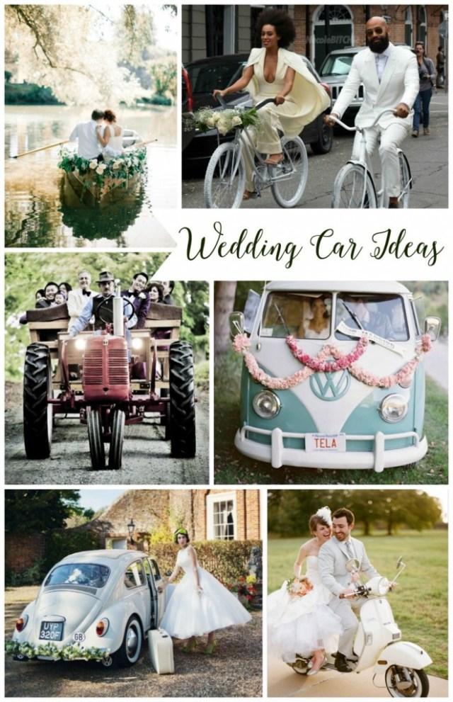 Pretty Perfect Wedding Car Ideas