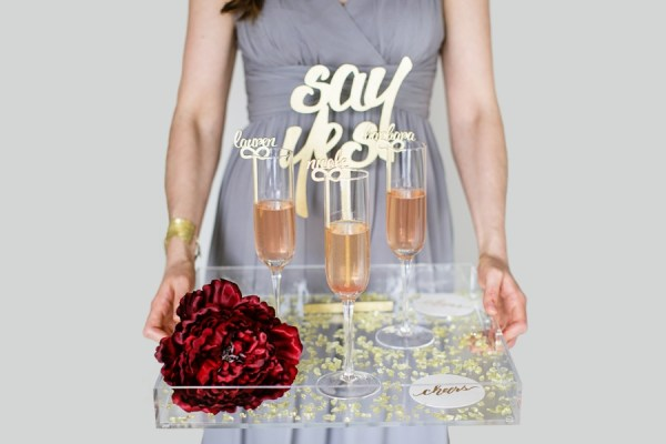 Cheers to Saying Yes with your Girls and Freixenet 10