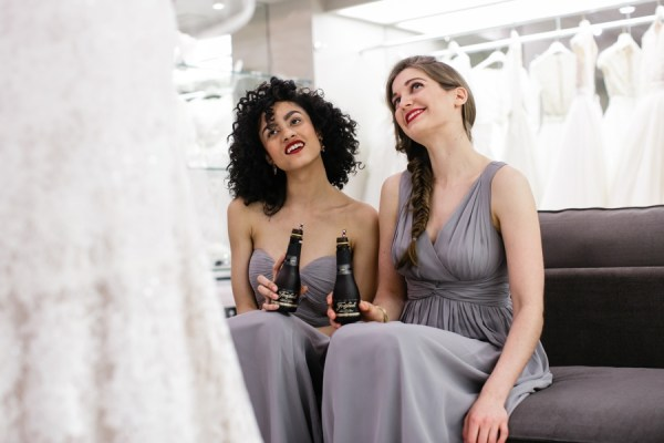 Cheers to Saying Yes with your Girls and Freixenet 28