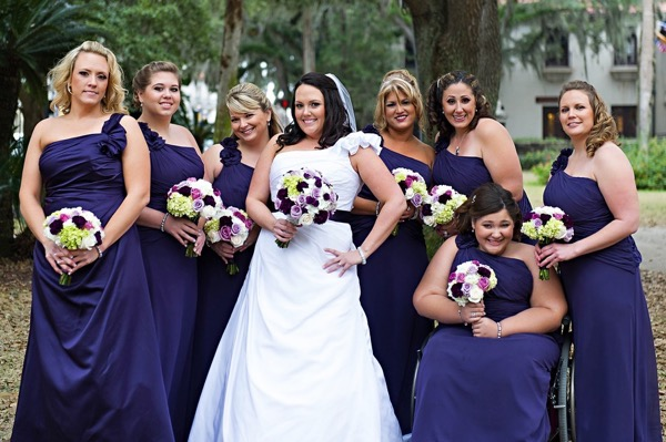 Purple Pink and Ivory Wedding by Pure Sugar Studios 11