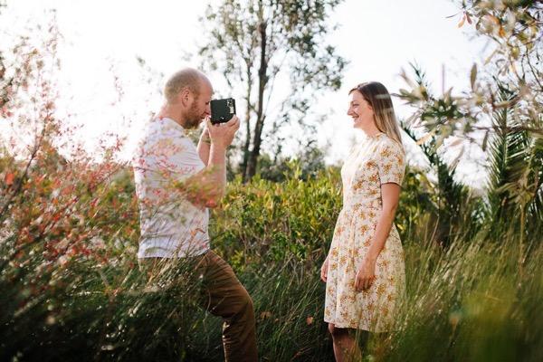 Sunny engagement shoot in sydney australia 2