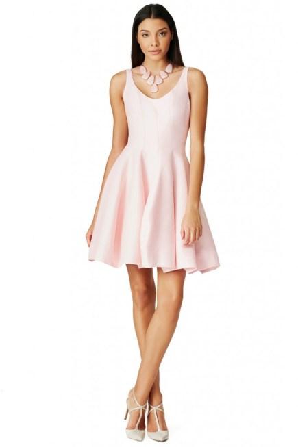 Pink Bridesmaid Dress- Halston Heritage