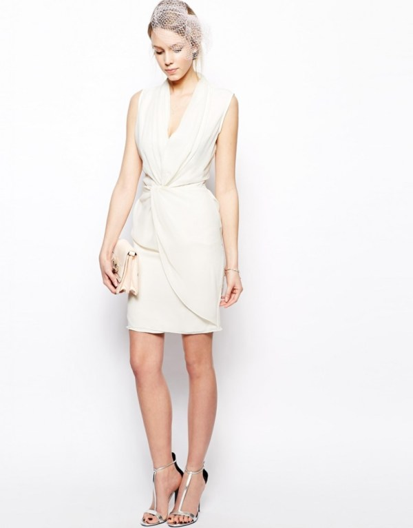 Summer bridal shower dress