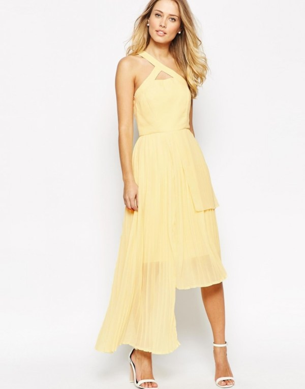 Yellow Summer Dress Vlabel London