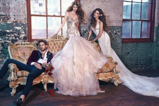 Galia Lahav Bridal Les Reves Bohemians Collection-Elsa & Jewel