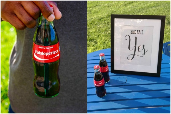 Share a Coke Wedding Session