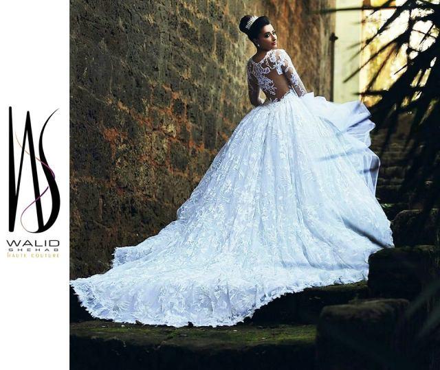 Walid Shehab Wedding Dress