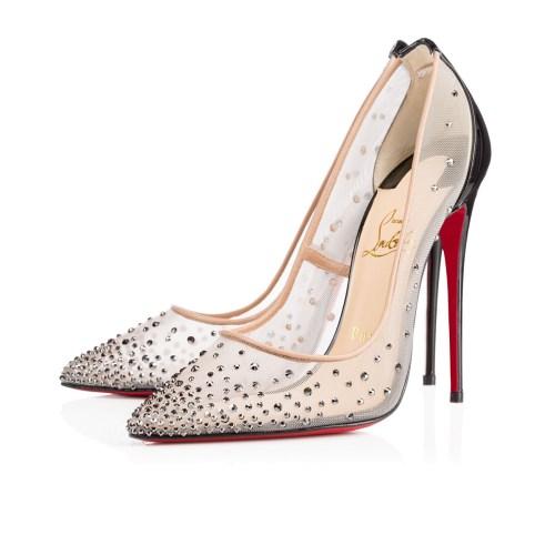 Christian Louboutin Follies en Strass Wedding Shoes