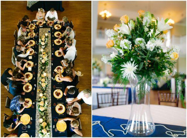 blue and yellow wedding _ al gawlik