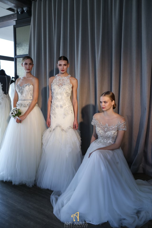 Bridal fashion week recap- badgley mischka 1