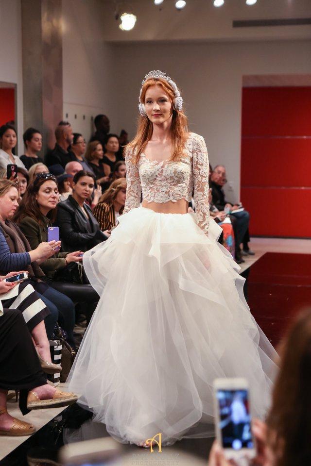 Reem Acra Fall 2016 Bridal Fashion Week 9