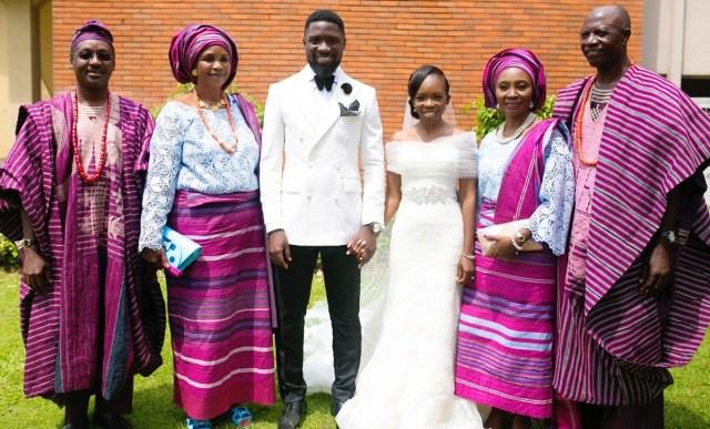 Slam2014 - Segi and Olamide Adedeji's Wedding in Ruby Gardens Nigeria 124