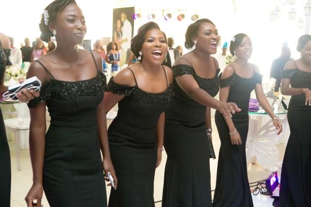 Slam2014 - Segi and Olamide Adedeji's Wedding in Ruby Gardens Nigeria 154
