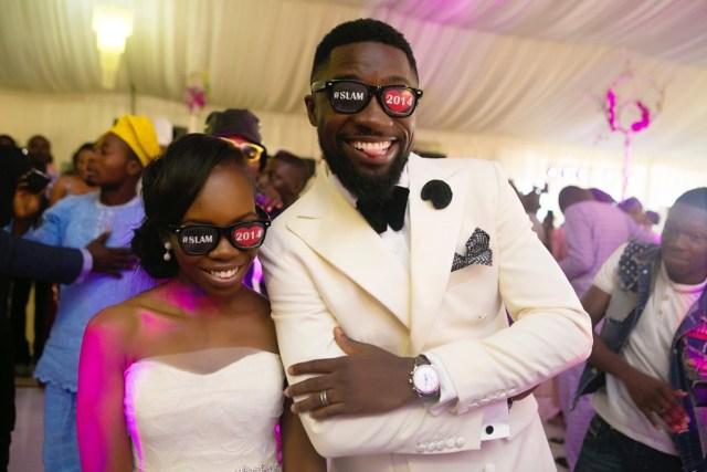 Slam2014 - Segi and Olamide Adedeji's Wedding in Ruby Gardens Nigeria 207