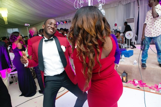 Slam2014 - Segi and Olamide Adedeji's Wedding in Ruby Gardens Nigeria 235