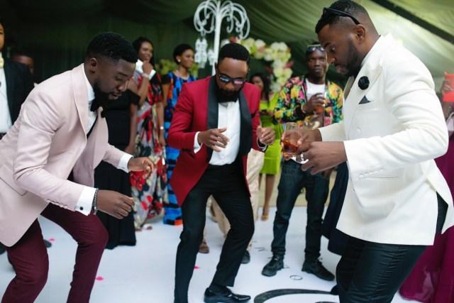 Slam2014 - Segi and Olamide Adedeji's Wedding in Ruby Gardens Nigeria 274