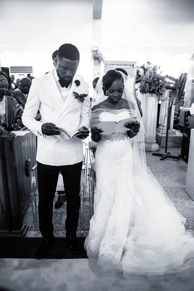 Slam2014 - Segi and Olamide Adedeji's Wedding in Ruby Gardens Nigeria 280