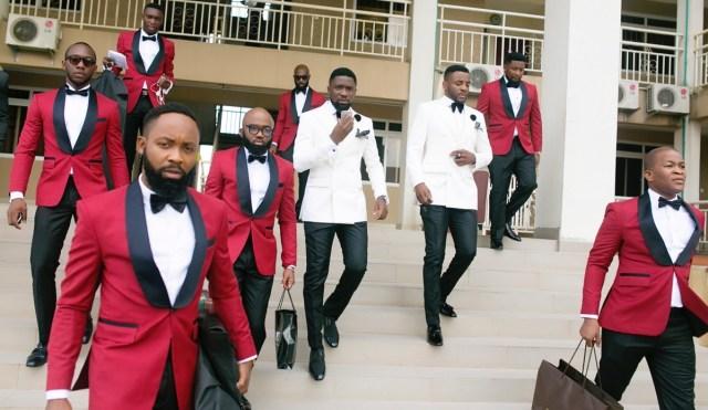 Slam2014 - Segi and Olamide Adedeji's Wedding in Ruby Gardens Nigeria 54