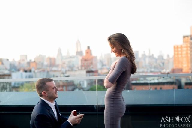 Katie and Ravi's Suprise Proposal at 60 LES 44
