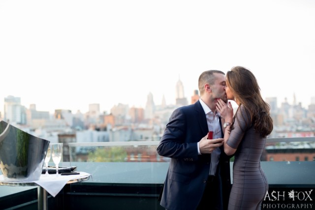 Katie and Ravi's Suprise Proposal at 60 LES 46