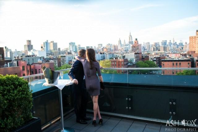 Katie and Ravi's Suprise Proposal at 60 LES 58
