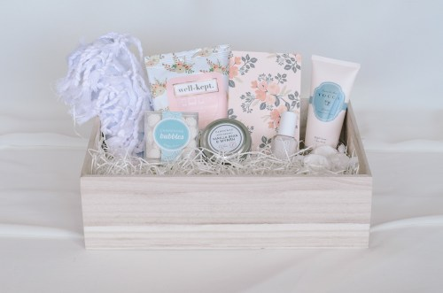 Curated gift basket