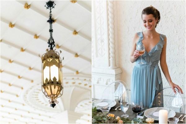brideside bridesmaids dresses - rustic elegant wedding