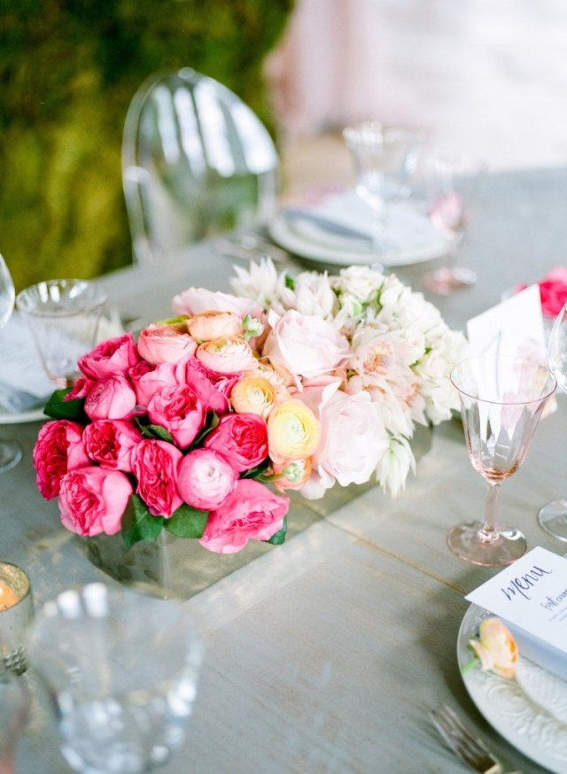 Spring Watercolor Wedding Inspiration 39