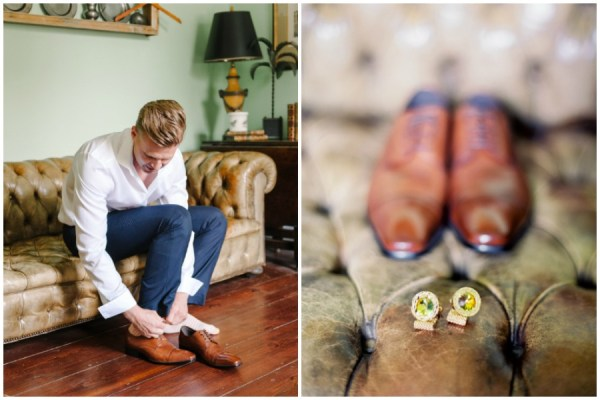 groom prep- southern charm wedding