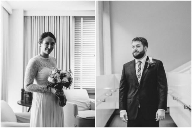 Chic intimate wedding in washington dc