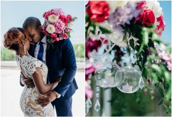 Modern English Garden Inspired Wedding Shoot