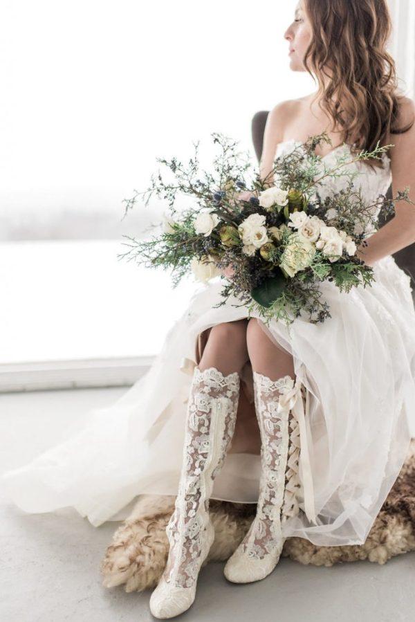 wild winter bouquet
