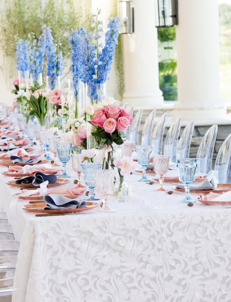 Beautiful Spring Gender Reveal Celebration with Pale Pink and Lavender Details-15
