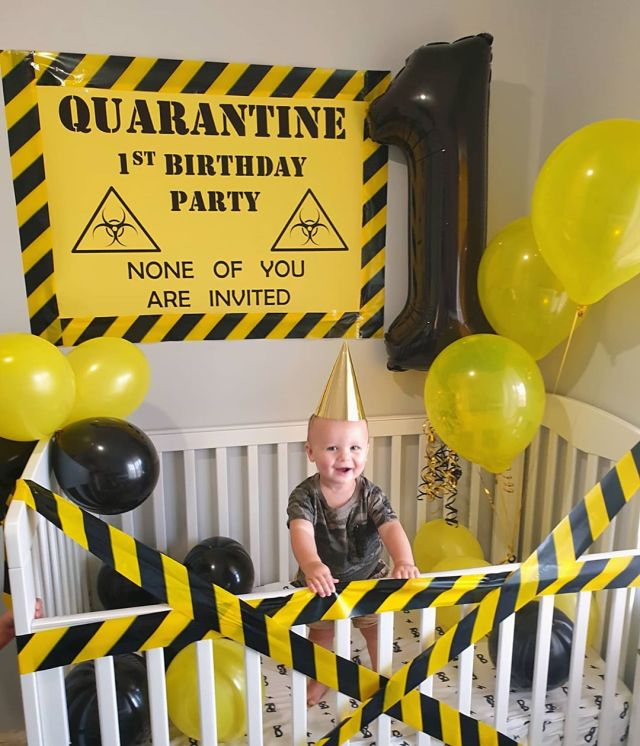 Quarantine Kids birthday party ideas