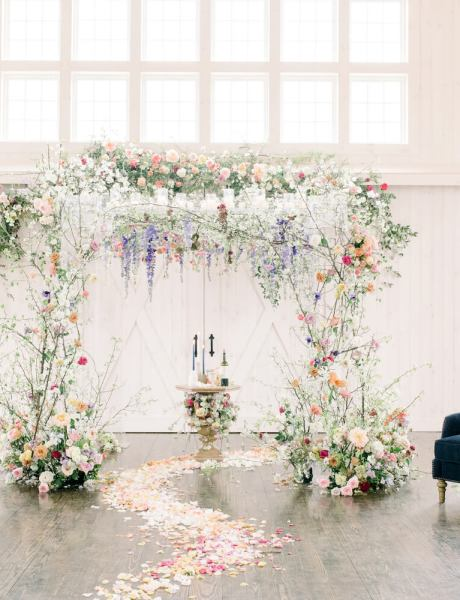 Gorgeous Pastel Wildflower Decor Wedding & Party Inspiration-19