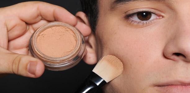 Maquiagem masculina: eles também podem