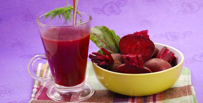 Suco de beterraba com laranja (suco rosa) e seus benefícios