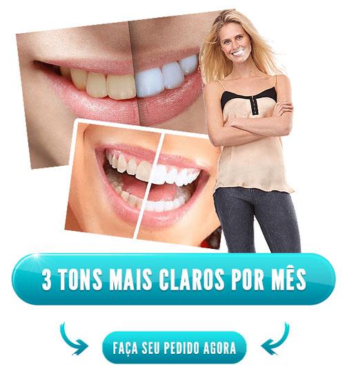 Clareamento dental natural com Blank Dent