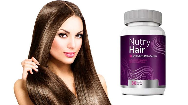 Nutry Hair: vitamina capilar para queda e crescimento do cabelo