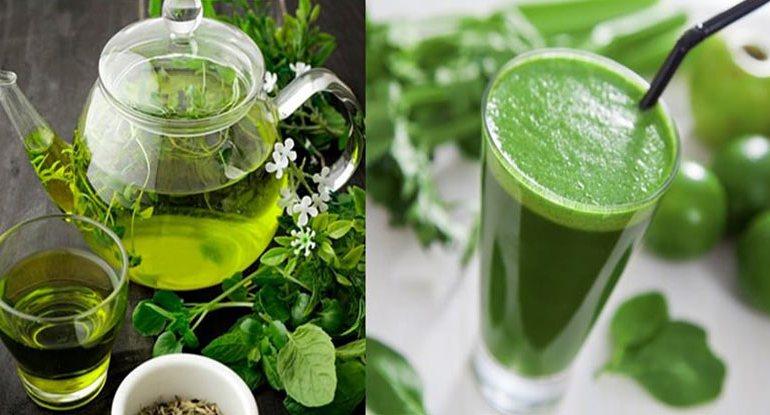 Chá ou suco para emagrecer?